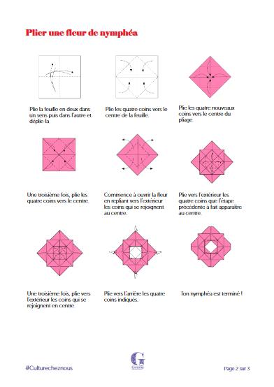 Activité pour enfants - Origami