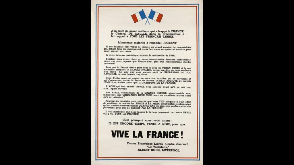 Appel aux Français de Liverpool