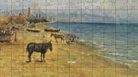 Barceloneta Beach Picasso Puzzle