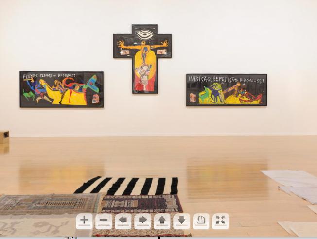 vue de l'exposition Imagine Brazil en 2014 au MAC Lyon
