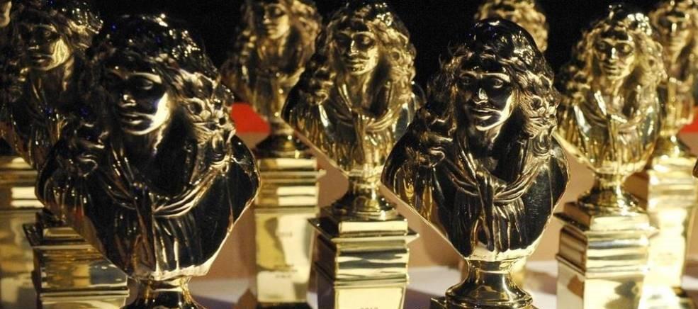 Statuettes remises lors de la cérémonie des Molières