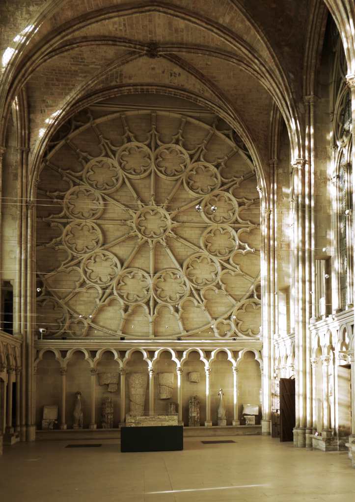 Chapelle royale du Château de Saint-Germain-en-Laye, La rosace