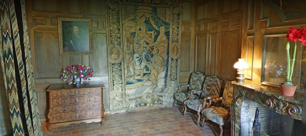 Château de Talcy, Chambre de Charles IX