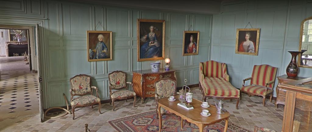Château de Talcy, Petit salon du 1er étage