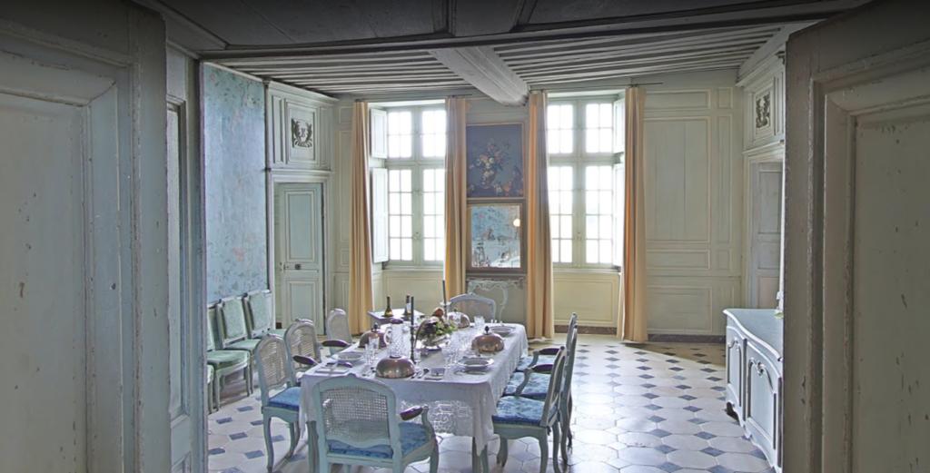 Château de Talcy, Salle à manger