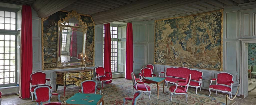 Château de Talcy, Salon de compagnie 1er étage
