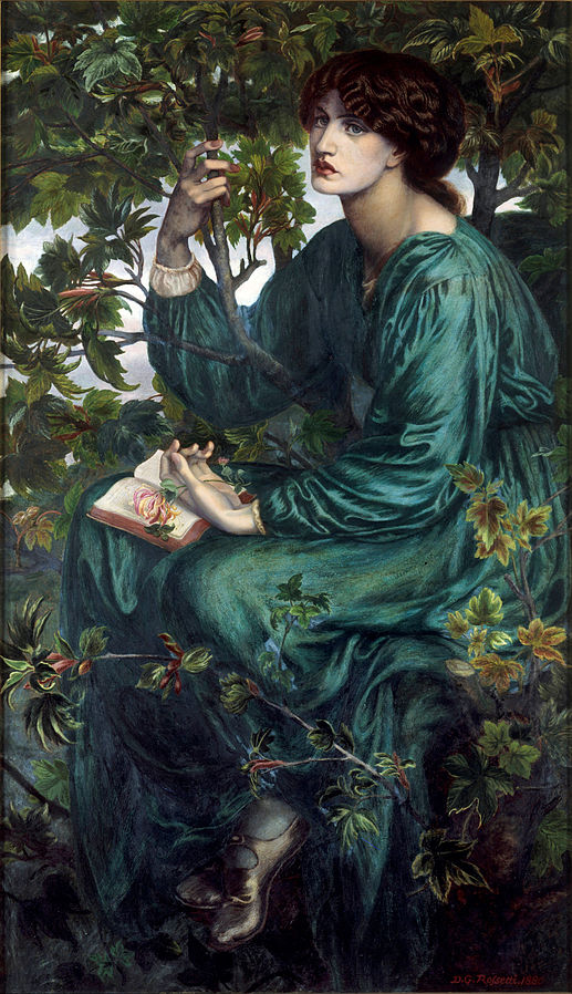 "Dante Gabriel Rossetti ""The Day Dream"""