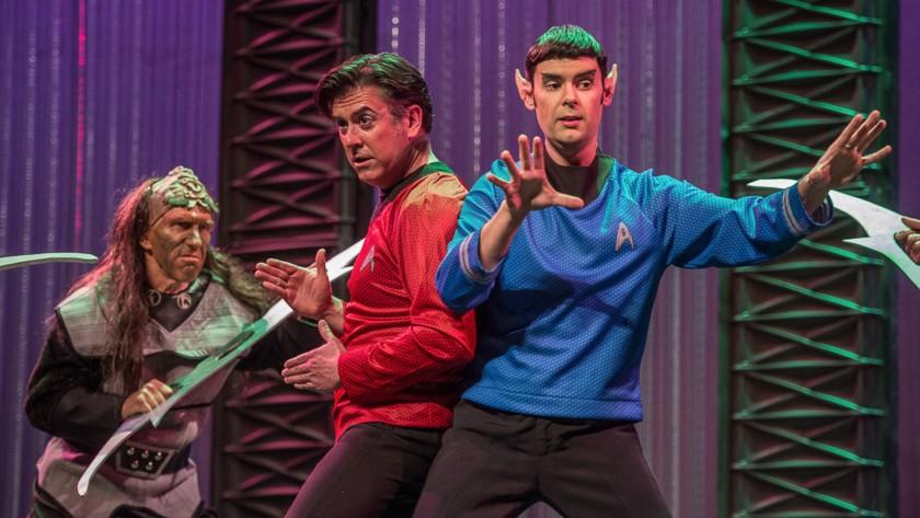 """""""L'Enlèvement au sérail"""" de Mozart version Star Trek"""