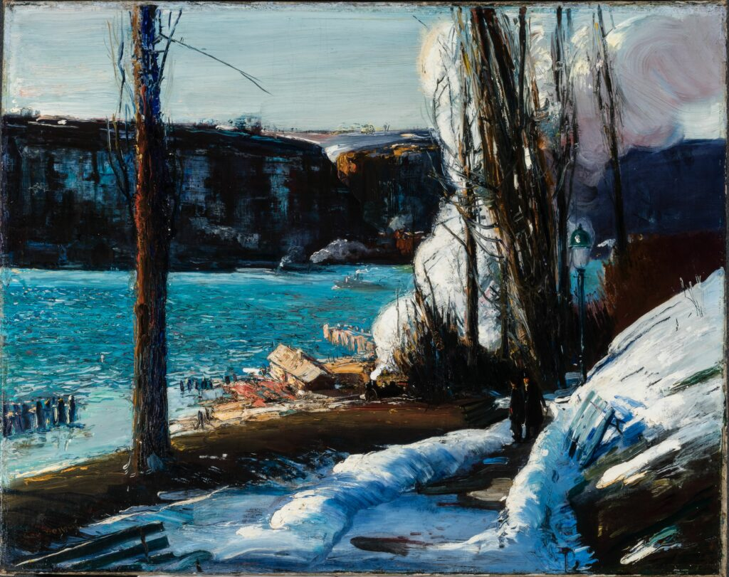 George Bellows (1882-1925) Les « Palisades », 1909