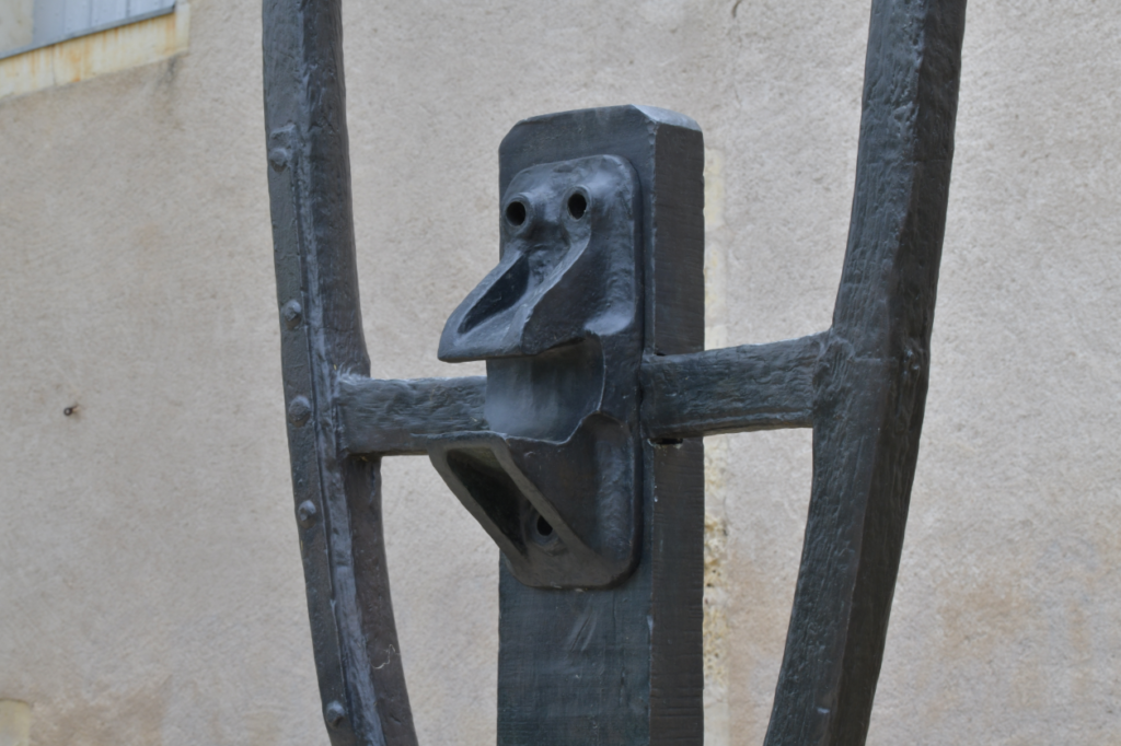 Vue de l'exposition Parc des sculptures
