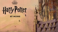 Harry Potter at home JK Rowling
