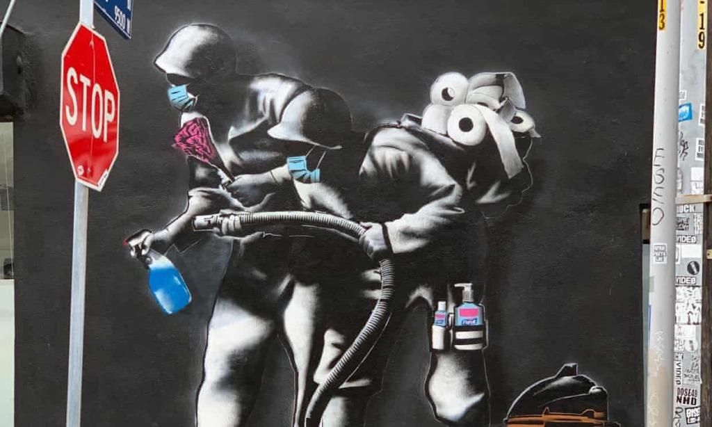 Hijack street art los angeles