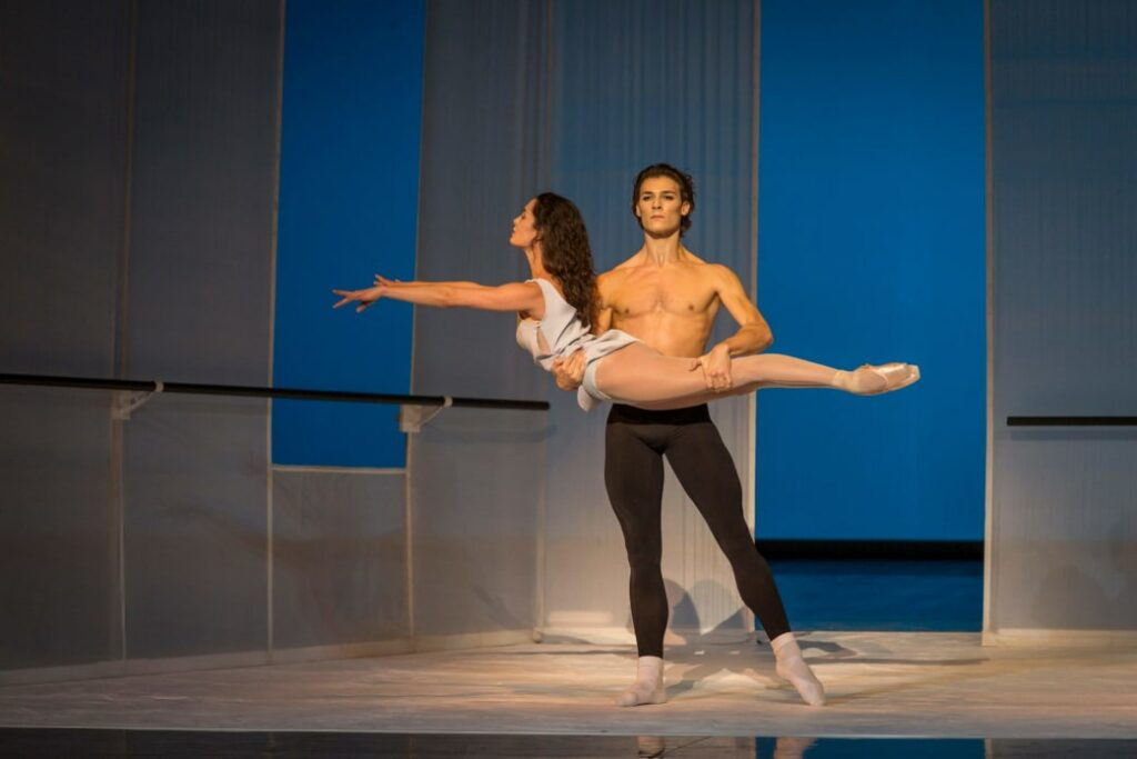 """""""Afternoon of a faun"""" de Jerome Robbins"""
