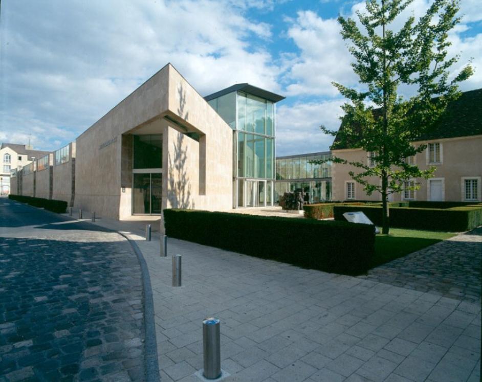 Hospice Saint-Roch, entrée contemporaine