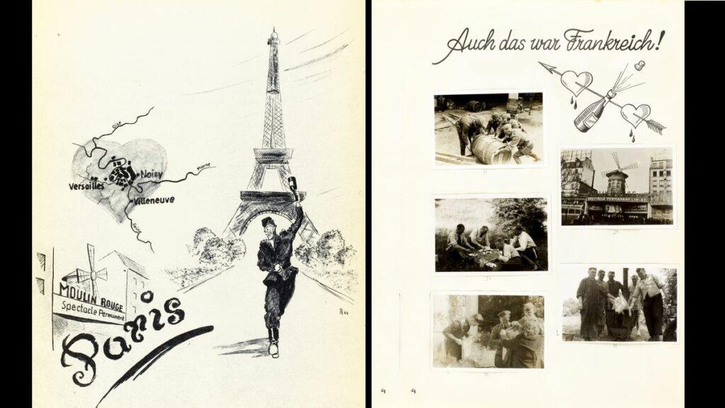 Journal de marche illustré d'un bataillon allemand