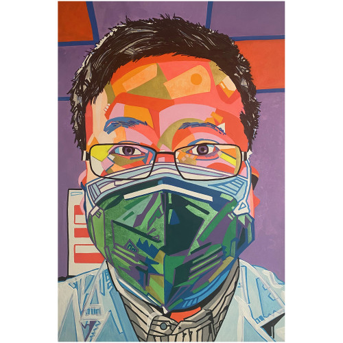Kiki Picasso - L'ophtalmologue lanceur d'alerte Li Wenliang
