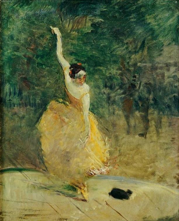 """""""La danseuse espagnole"""" de Toulouse-Lautrec"""
