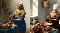 La Laitière Vermeer Getty Museum Challenge