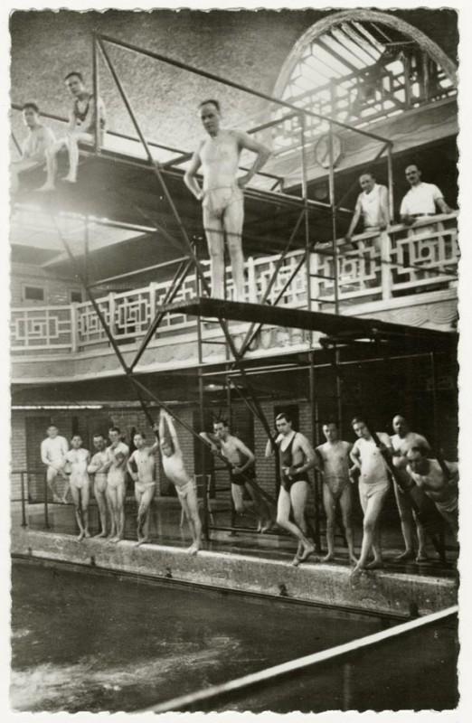 Les baigneurs à La Piscine de Roubaix