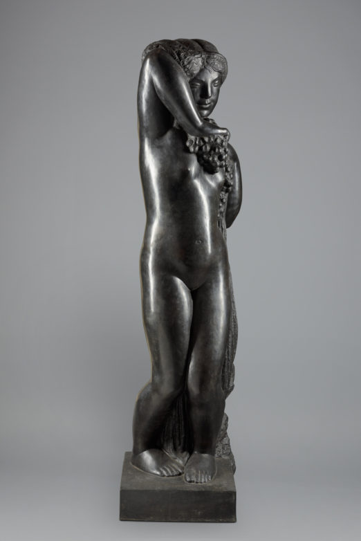 La Piscine, Joseph Bernard, Grande bacchante, 1912