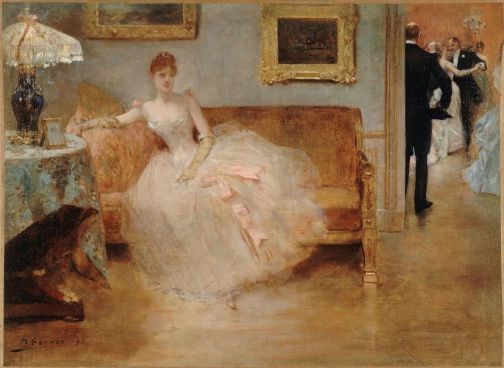 """Le Bal"" d'Henri Gervex"
