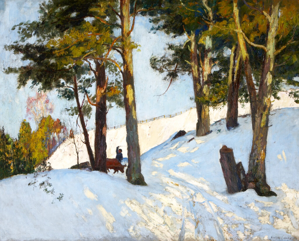 Cullen Maurice, Logging in winter beaupre