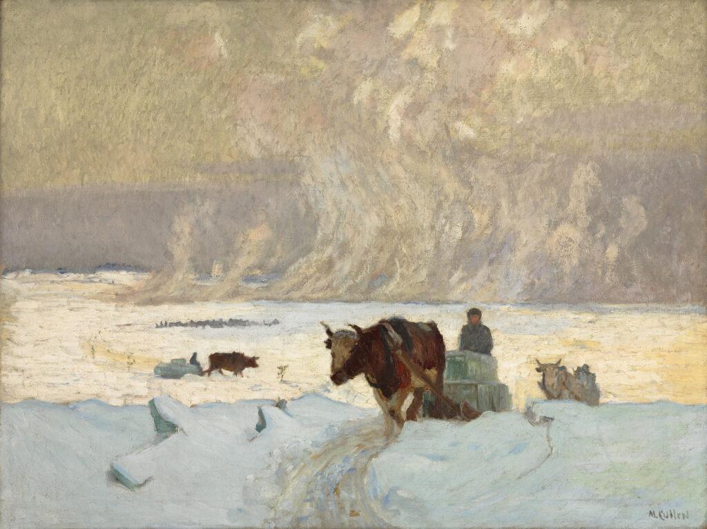 Cullen Maurice, Recolte de la glace
