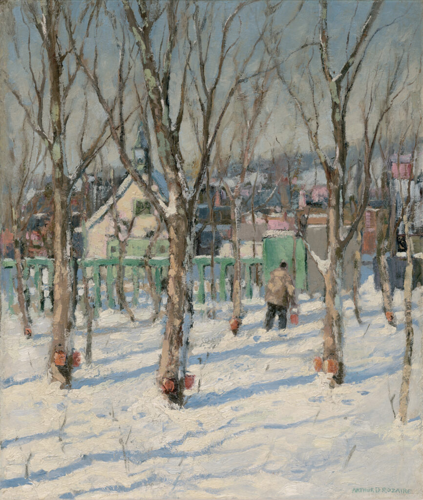 Rozaire, Winter Sap Buckets