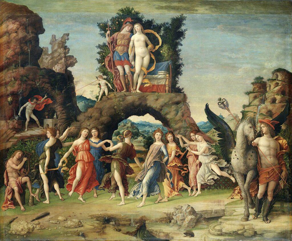 """""""Le Parnasse"""" de Mantegna"""