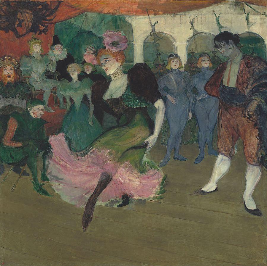 """""""Marcelle Lender dansant le boléro"""" de Toulouse-Lautrec"""