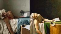 Mort de Marat Concours tableaux vivants