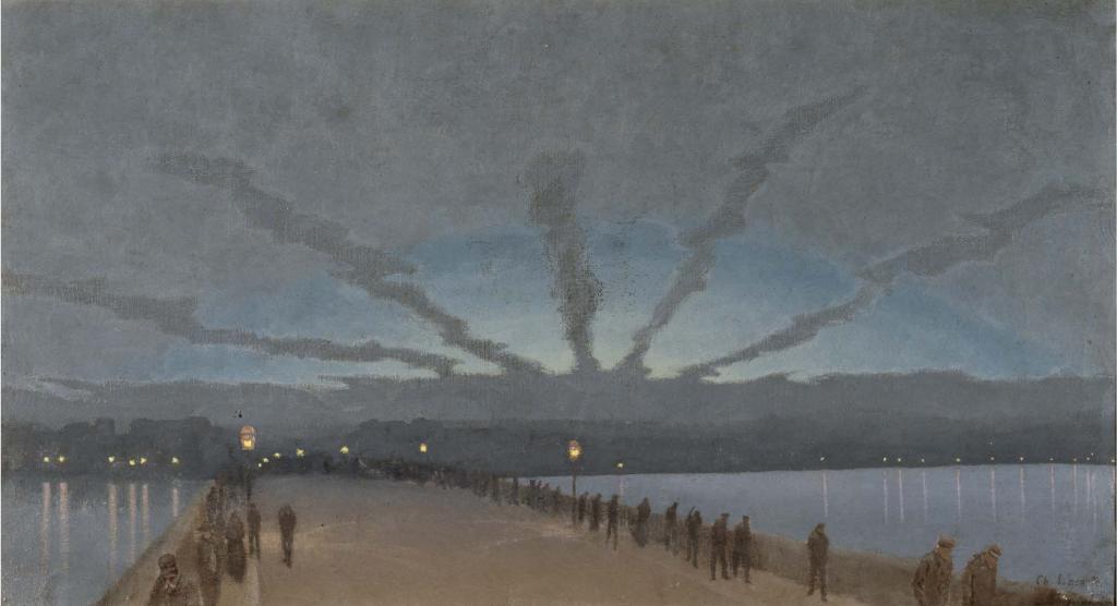 Charles Lacoste, La Main d'ombre (1896)