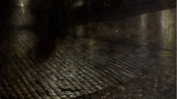 MUMA Nuits électriques - Joseph Pankiewicz, Cab sous la pluie