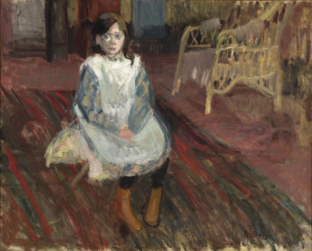 Raoul Dufy, Fillette assise