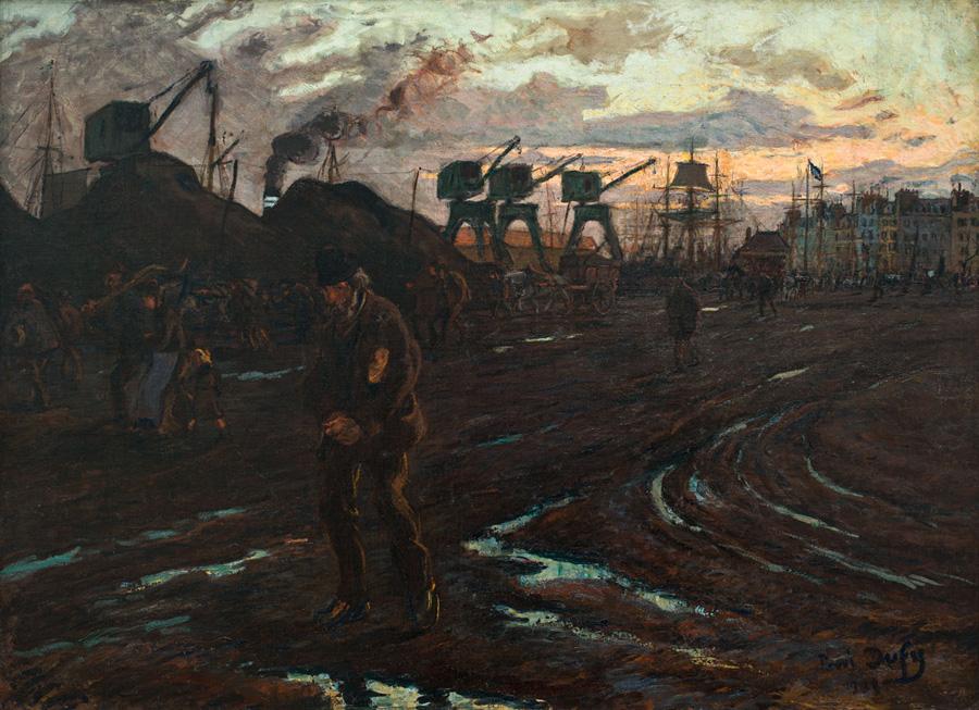 Raoul Dufy, Fin de journée au Havre