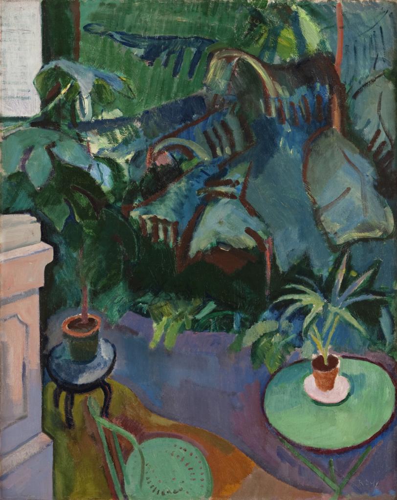 Raoul Dufy, Le Jardin d'hiver