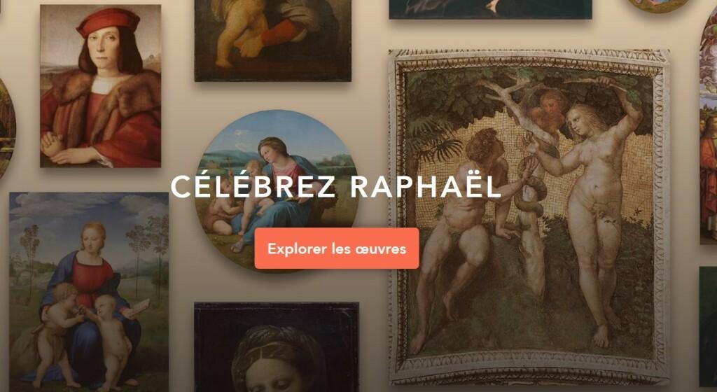 "Musée virtuel ""Célébrez Raphaël"""