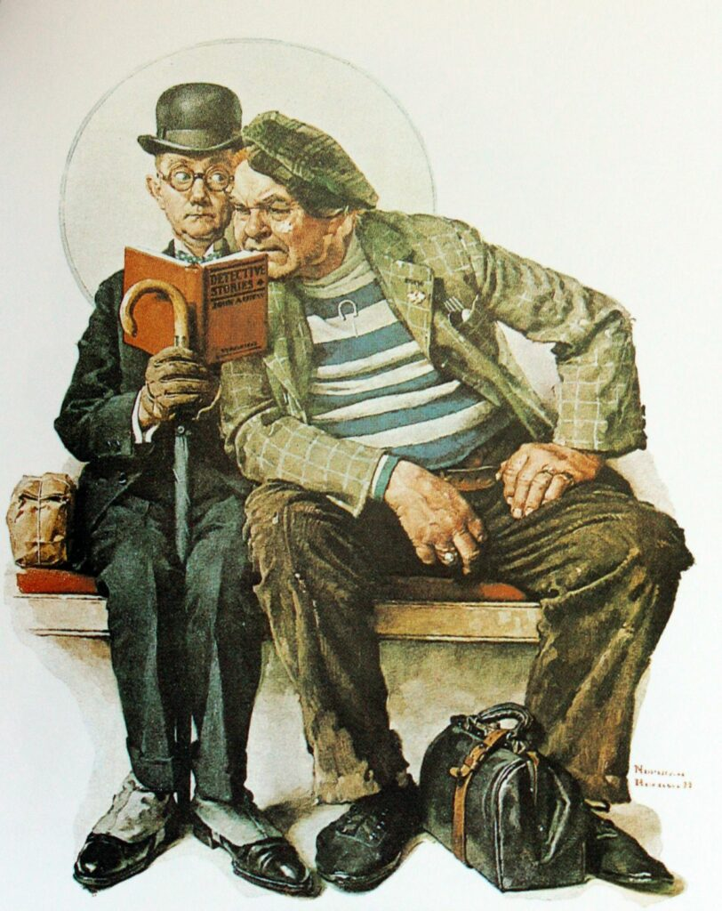 "Norman Rockwell ""The Interloper"""