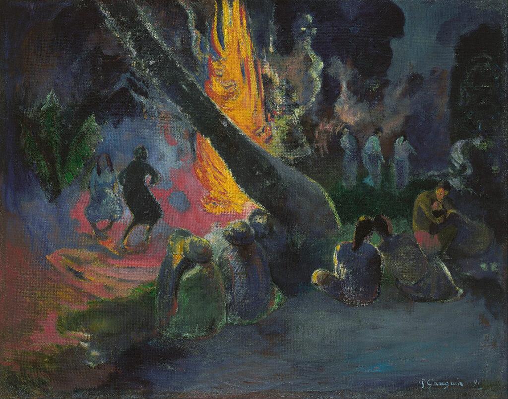 """""""Upa Upa, la danse du feu"""" de Paul Gauguin"""