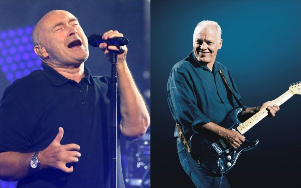 Phil Collins et David Gilmour