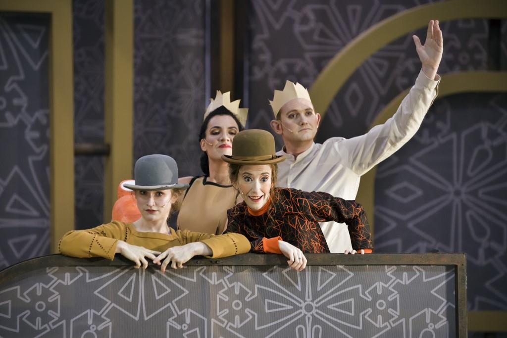 """""""La Princesse légère"""" à l'Opéra Comique"""
