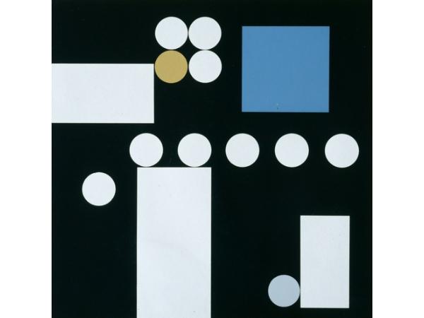 """Sophie Taueber-Arp, """"Composition à rectangles, cercles, carré et carré de cercles"""", 1933"""