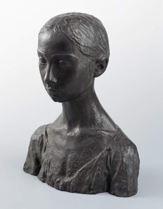 Robert Wlérick, La petite landaise, 1911