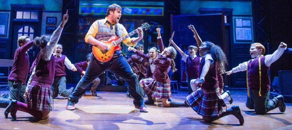 """School of rock"" d'Andrew Lloyd Webber"