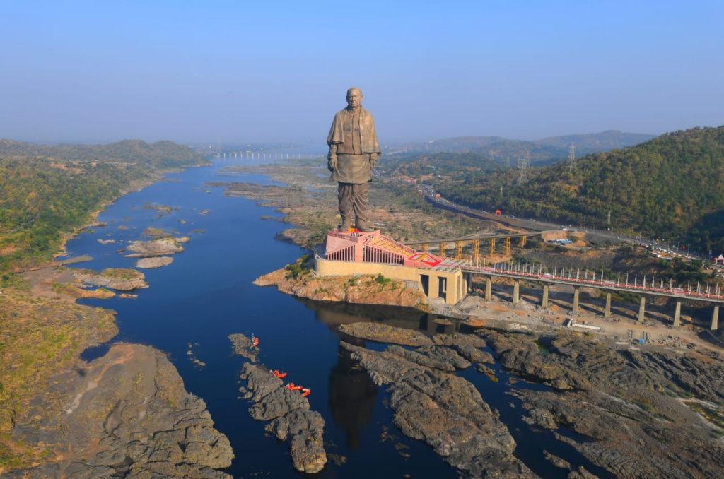 """""""Statue de l'Unité"""" de Ram V. Sutar en Inde"""
