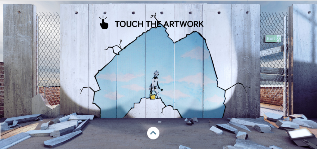 Art Attack Banksy Palestine wall