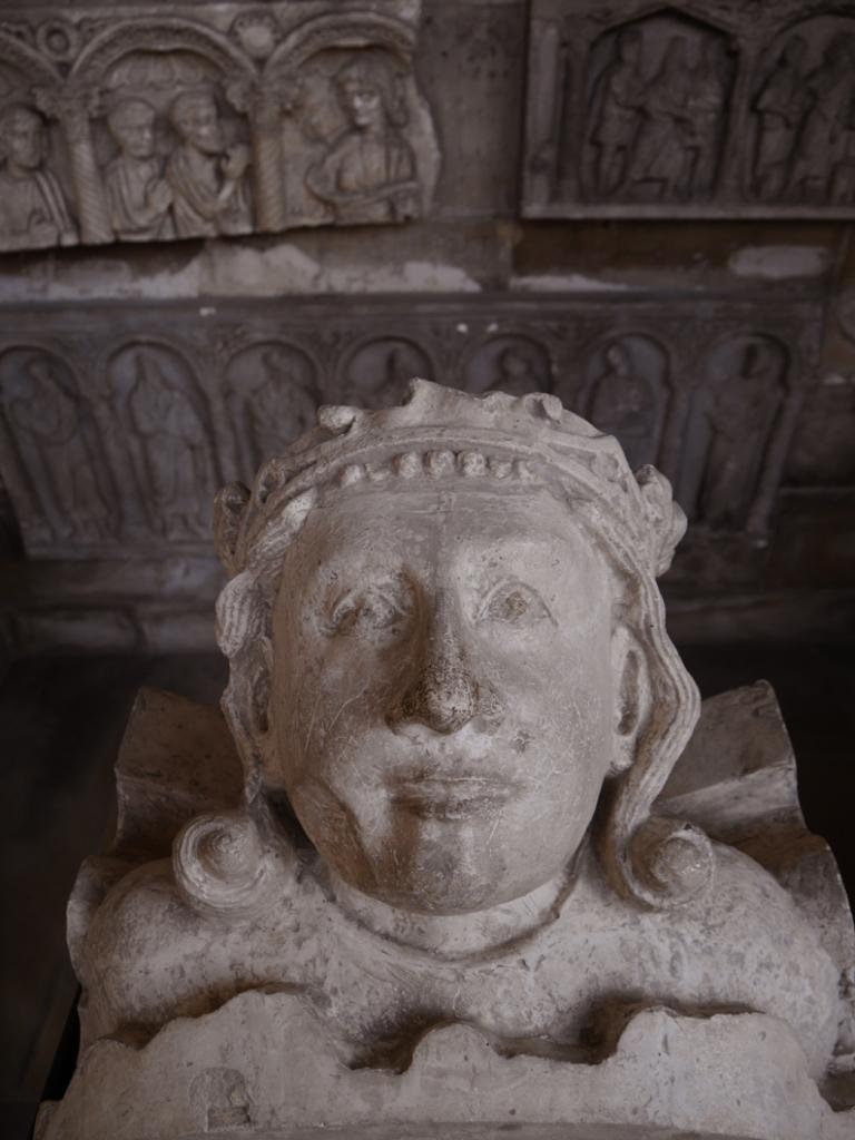 Tête de Saint-Louis, Chapelle du château de Saint-Germain-en-Laye