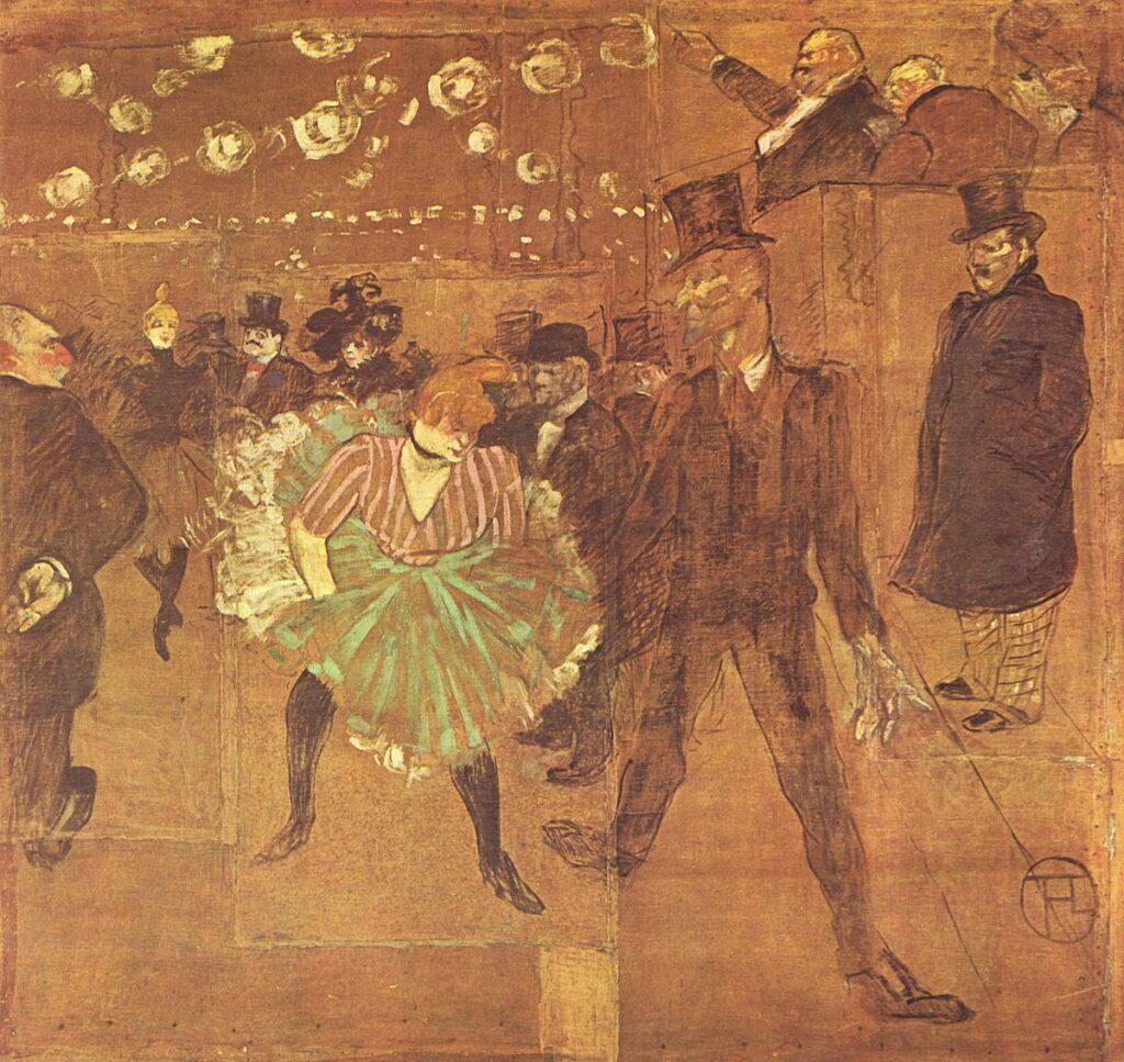 """""""Valentin le désossé"""" de Toulouse-Lautrec"""