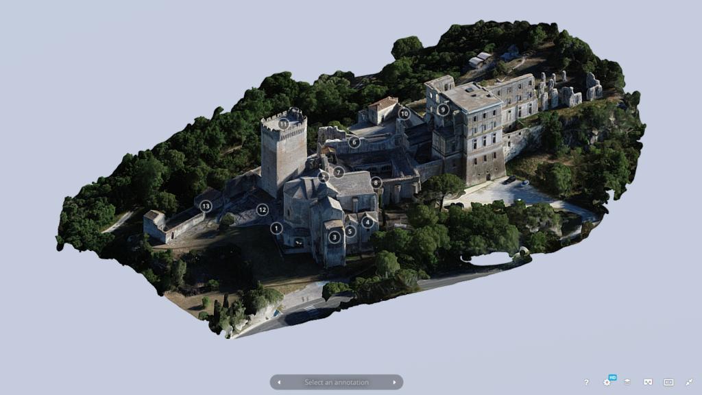 Visite virtuelle de l'Abbaye de Montmajour (1)