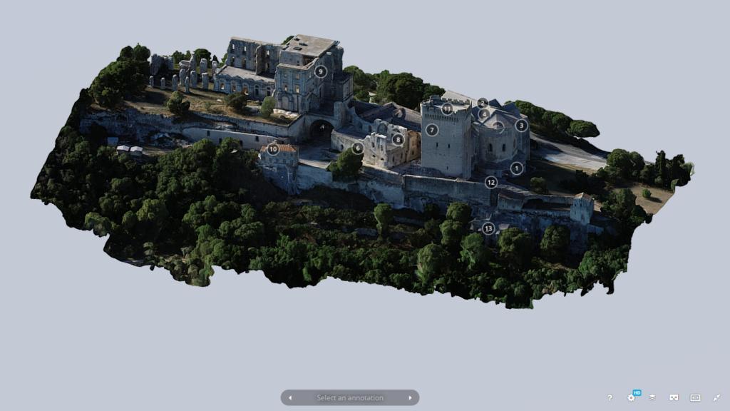 Visite virtuelle de l'Abbaye de Montmajour (2)